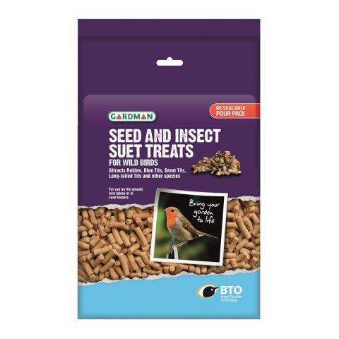 pellet di semi & insetti con grasso