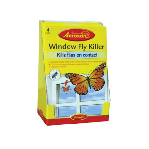 farfalla killer attira mosche