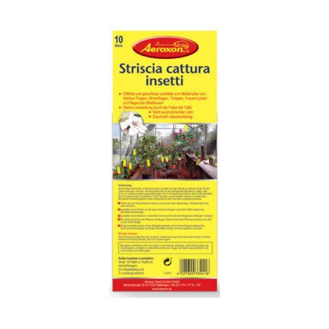 strisce adesive cattura insetti da attaccare alle piante (piccola)