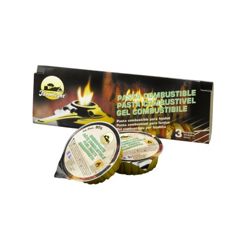 gel combustibile 240 gr (3x80 gr)